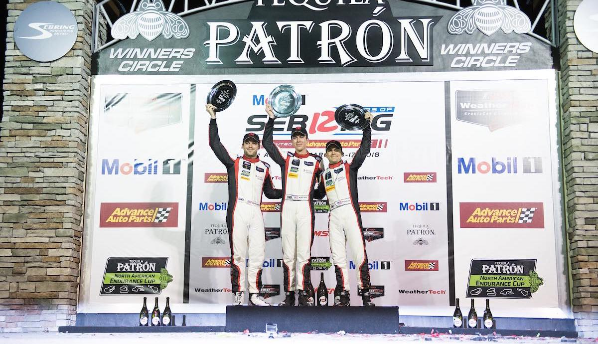 Corey Lewis Racing Sebring Win